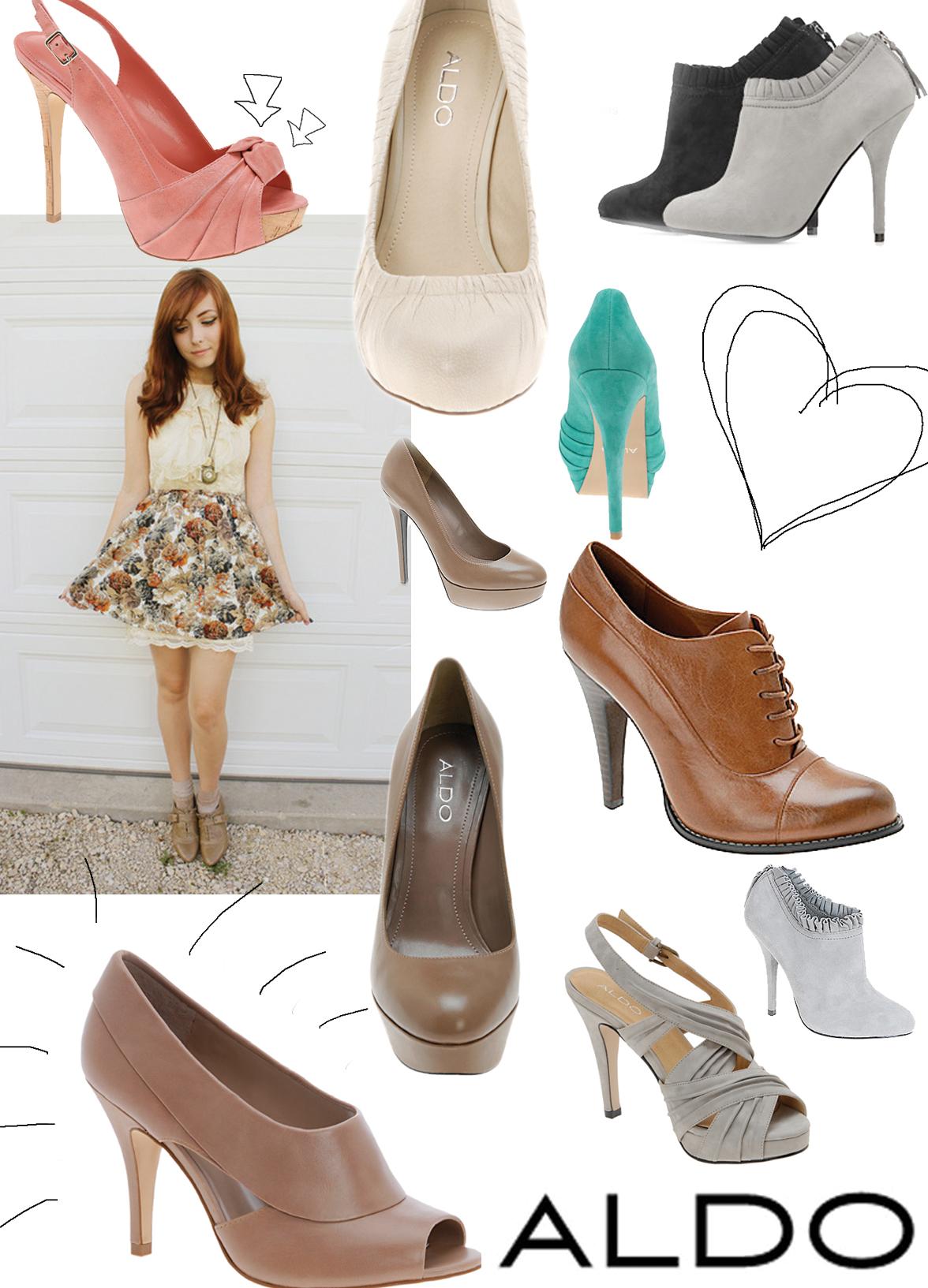 Les chaussures ALDO