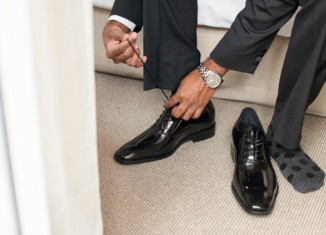 costume-chaussure-noire