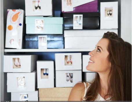 les meilleures astuces pour ranger les chaussures. Black Bedroom Furniture Sets. Home Design Ideas