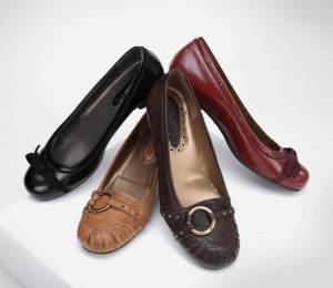 Des chaussures femmes en cuir