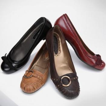 Modèles de chaussures en cuir