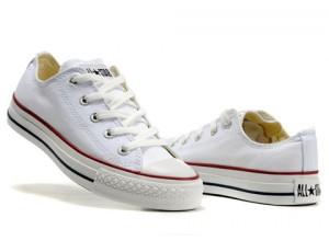 Les chaussures Converse