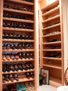 Chambre pour mettre les chaussures